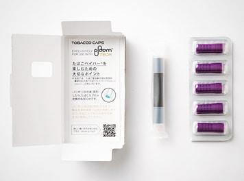 MEVIUS Cooler Purple for Ploom TECH(メビウス・クーラー・パープル・フォー・プルーム・テック プルーム・テック専用たばこカプセル)