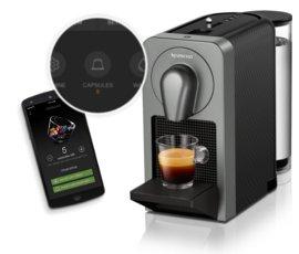 4ポイントコース:ネスプレッソ初の スマートフォンアプリ連動型 コーヒーメーカーprodigio