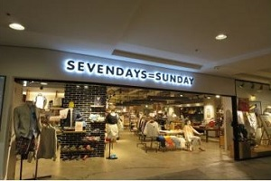SEVENDAYS=SUNDAY at CANAL CITY HAKATA