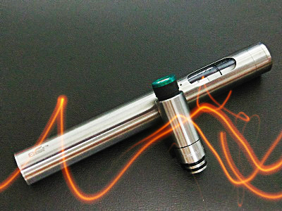 電子タバコ(eleaf)本体とたばこカプセル専用ドリップチップ