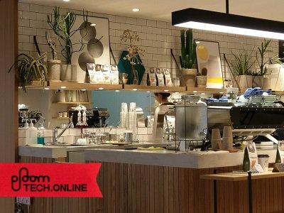 RETHINK CAFE GINZA 風景その1