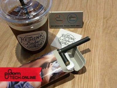 RETHINK CAFE GINZA 風景その3