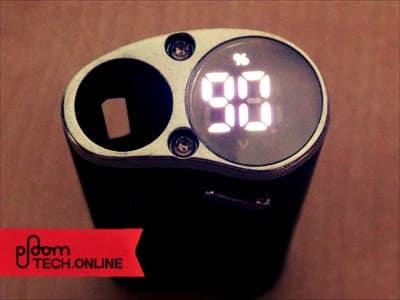 Dfasmo/ディファスモの充電残量表示