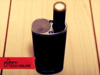 Dfasmo/ディファスモにカートリッジ+たばこカプセルをセットした状態