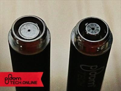 プルームテック互換バッテリー「Ocean-C P3」純正と比較その3
