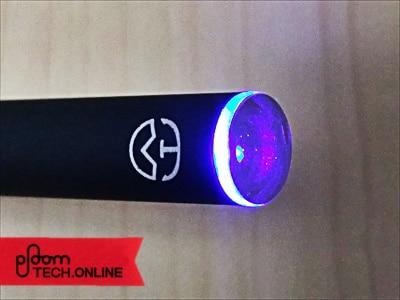 プルームテック互換バッテリー「Ocean-C P3」LEDの光り方