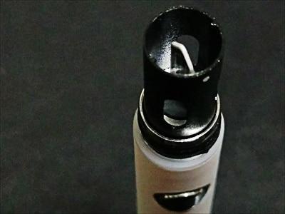 KeCig2.0Plusバッテリーにヒートブレードを装着