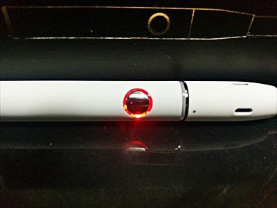 KeCig2.0Plus加熱終了ランプ