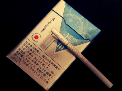 ブライト・タバコ:ネオスティック