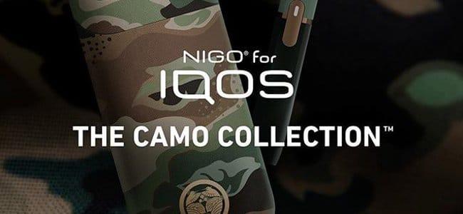 NIGOコラボ企画:カモフラージュ・アイコス