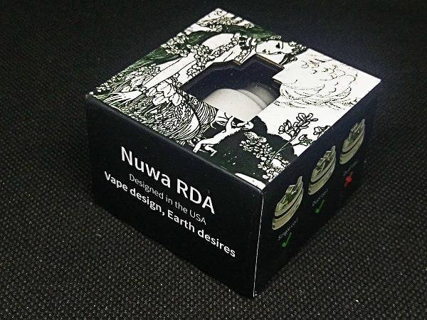 Nuwa RDA外箱
