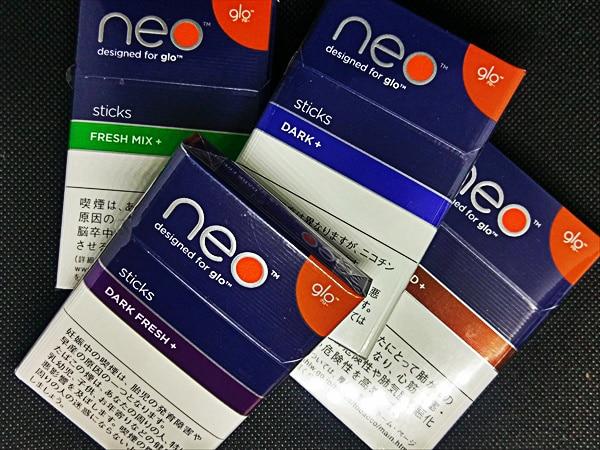 グロー新たばこスティック「neo」総評