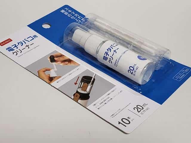DAISO電子タバコ用クリーナー