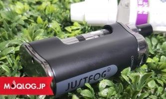 プルームテック互換機のハイスタンダード「JUSTFOG」が超カッコ良くなって新登場!コンパクトさはそのままに、操作性、デザイン性が大幅改善デス!
