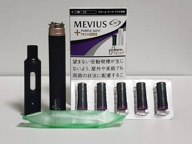 MEVIUS PURPLE MINT TECH PLUS / パープル・ミント
