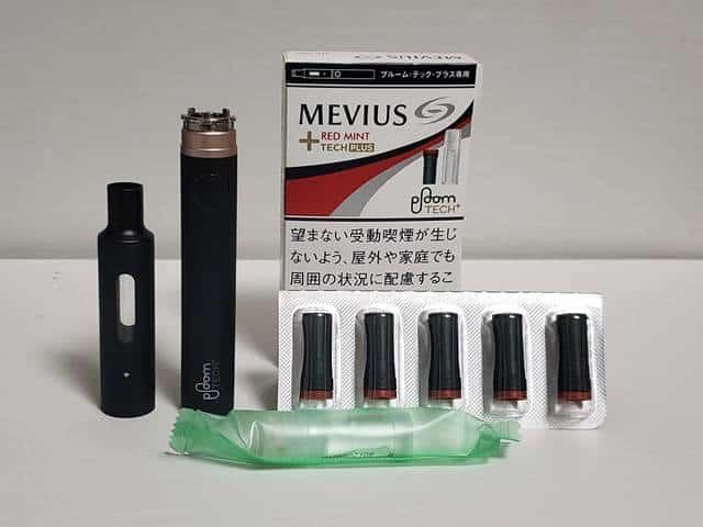 MEVIUS RED MINT TECH PLUS / パープル・ミント