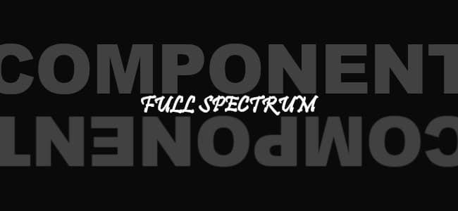 フルスペクトラムってどんな成分が入っているの?