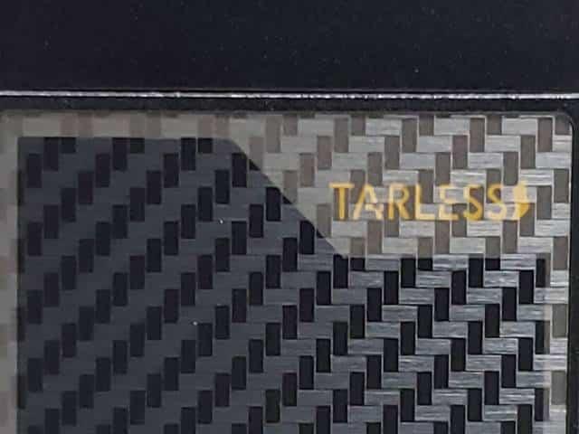 ブラック・ファイバー・グレイのパネル部分アップ