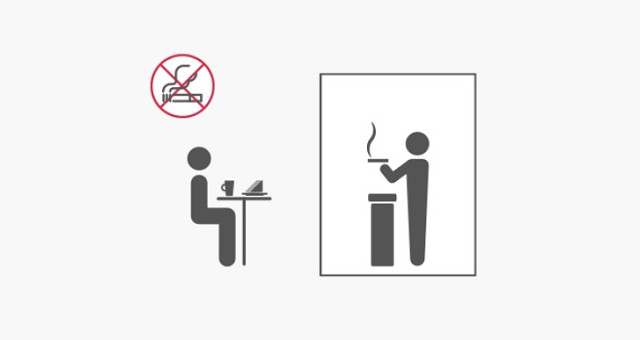 喫煙専用室を設置することが出来ます