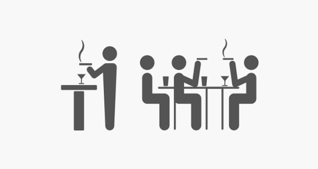 これまで通りの喫煙ルールで営業が可能です。