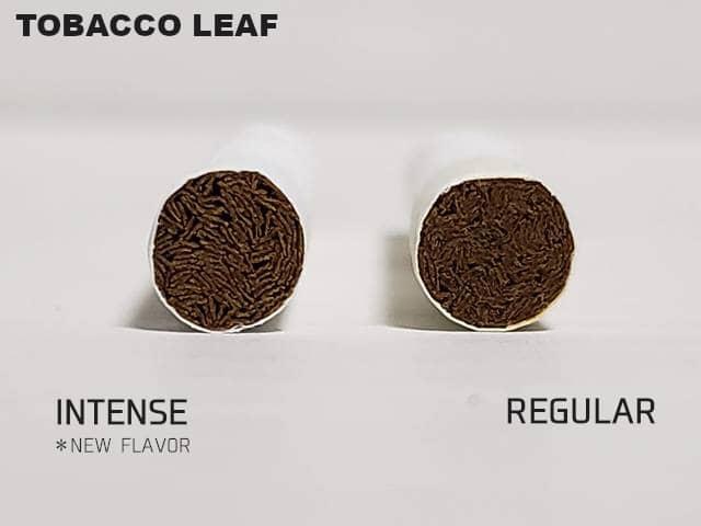 たばこ葉部分比較