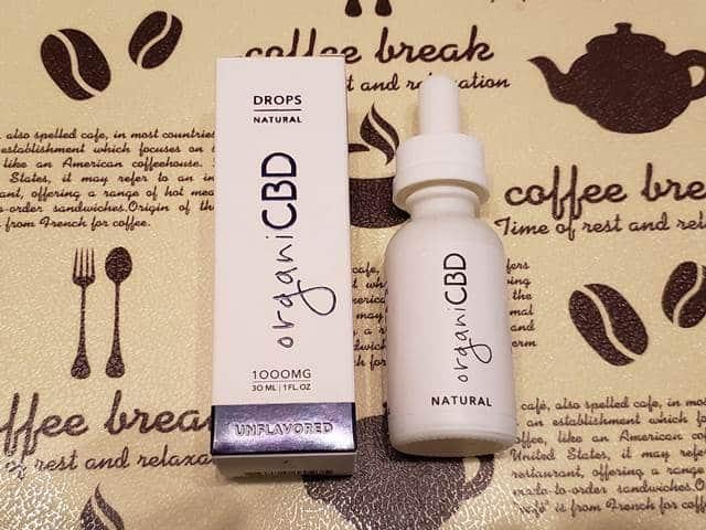 organi CBD natural DROPS
