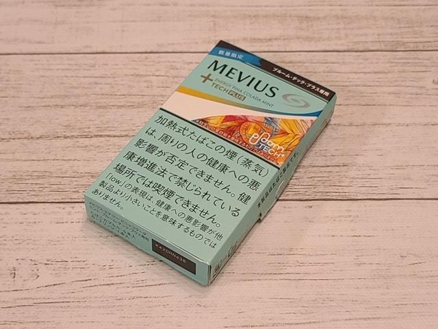 メビウス・エナジー・ピニャコラーダ・ミントのパッケージ
