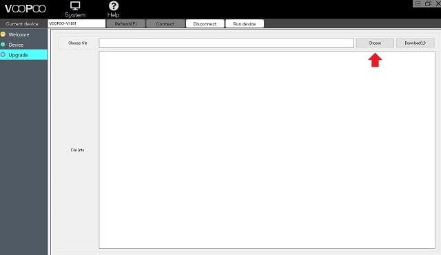 STEP07:設定ソフトで「DRAG S Mod Pod Version:V1.0.0.1(JDF Score Version)」をデバイスにインストールその1
