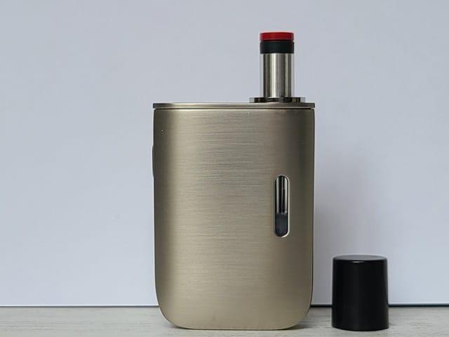 STEP04:マウスピースを戻して「たばこカプセル」を挿す