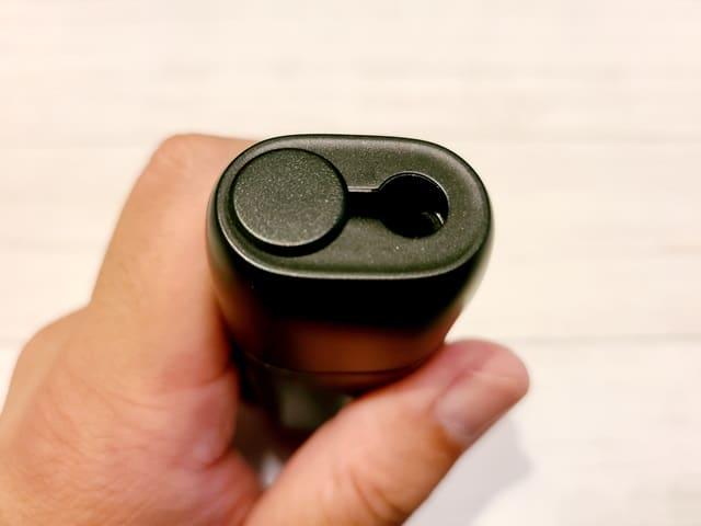 Pluscig P9の挿入口