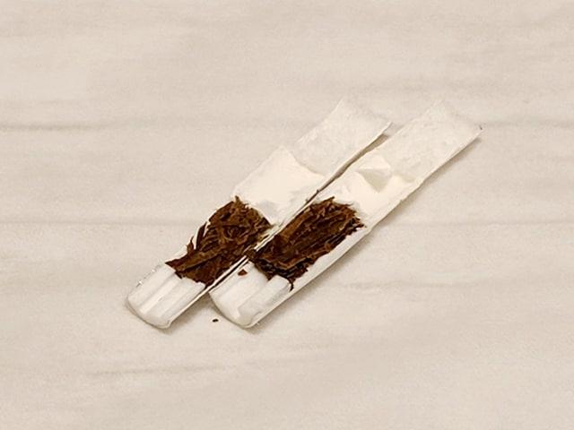リル・ハイブリッドの専用たばこMIIXの構造