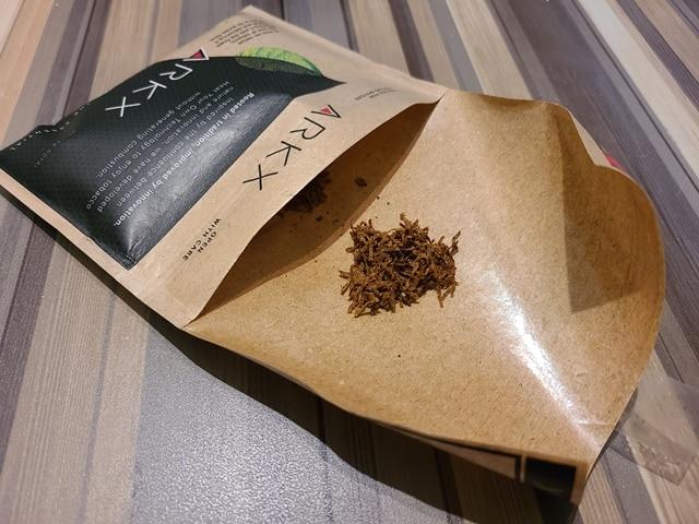専用たばこアークエックス(RUBY RED)のたばこ葉