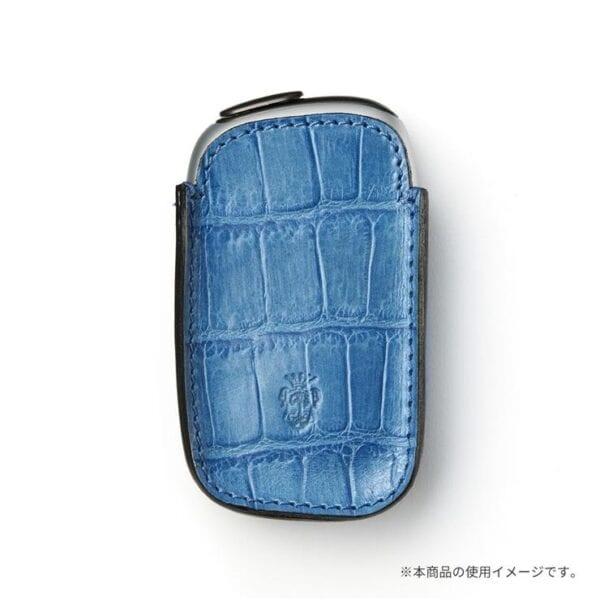 プルームエス専用felisiレザーカバーのカラー「ブルー」