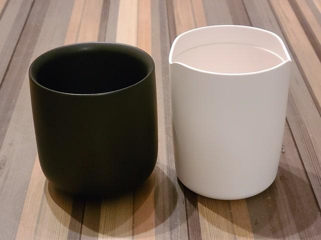 アイコスとグローの灰皿比較その3容量