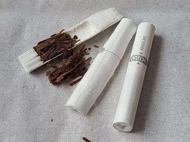 MIIX「regular」たばこスティック分解