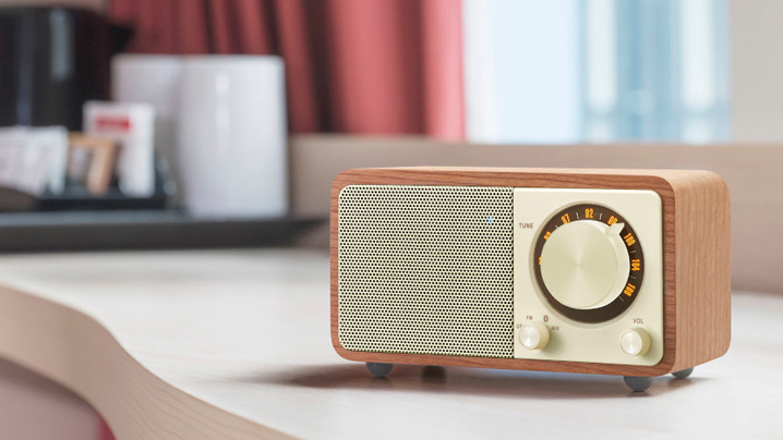 Aコース:Sangean FMラジオ・Bluetoothスピーカー