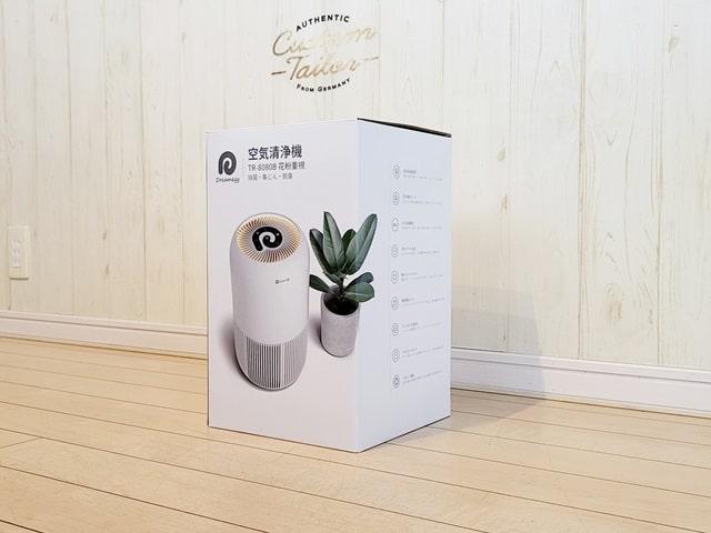 Dreamegg 空気清浄機の箱