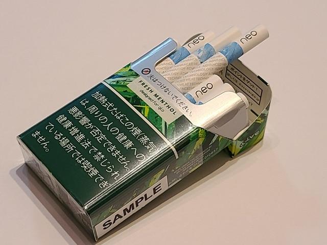 KOOL x neo fresh menthol開封