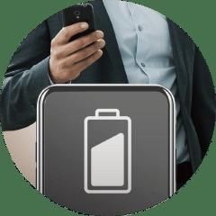 Bluetooth接続で出来ること①:バッテリー残量の詳細確認