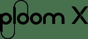 Ploom Xのロゴ(黒字)