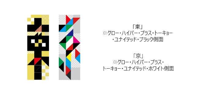 遊び心満載!2つ合わせて「東+京」