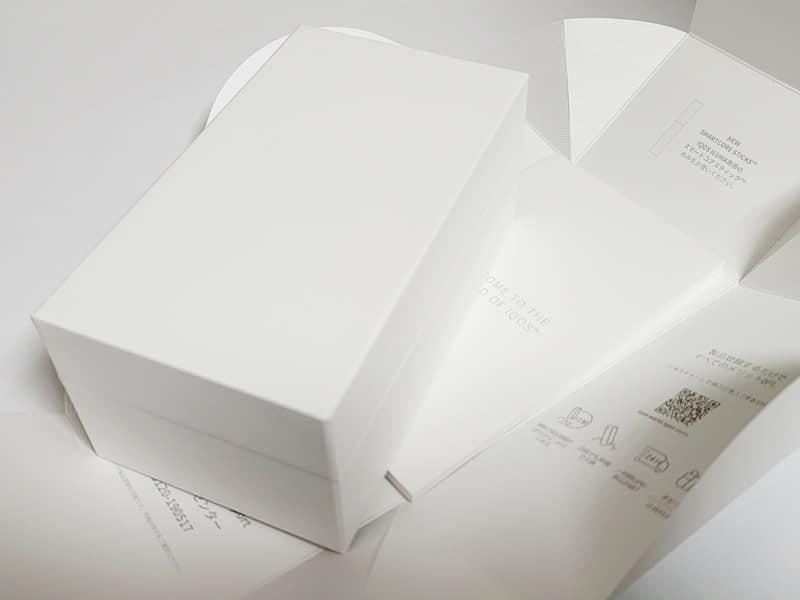 IQOS ILUMA PRIMEレビュー:パッケージを開封
