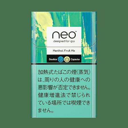 ネオ・メンソール・フルーツ・ミックス・スティック・glo hyper用