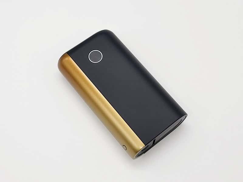 グロー・ハイパー・プラス・ブラック・オータム・ゴールドの正面図